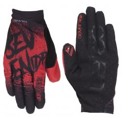 7Idp Youth Transition Gloves Men's Size Small in Gradient Red/Black
