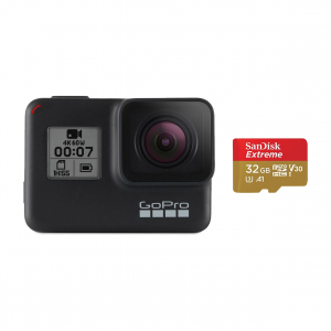 GoPro HERO7 Black/32GB SD Bundle
