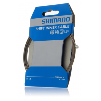 Shimano | Sil-Tec Coated Shift Cable Single, Ptfe Coated Stainless, 2100mm