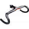 FSA Plasma Compact Integrated Handlebar Black, 120mm, 44cm, Carbon