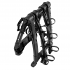 Kuat Highline 3 Bike Trunk Rack Black W/Black Accent, 3 Bike