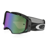 Oakley Airbrake Prizm MX Goggle Men's in Jet Black W/Prizm MX Jade