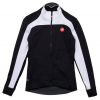 Castelli Mortirolo 2 Women's Bike Jacket Size Medium in Black/White
