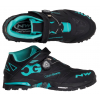Northwave Enduro Mid Shoes Men's Size 45 in Black/Aqua