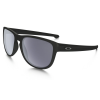 Oakley Sliver Round Cycling Sunglasses Men's in Matte Black/Grey Lens