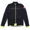 Castelli Fondo Jersey Fz Men's Size Medium in Black/Yellow Flou