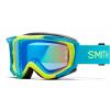 Smith Fuel V2 Goggles Chromapop Lens Men's in Fire/Chromapop Everyday Red Mirror