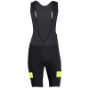Pearl Izumi Escape Quest Splice Bibs Men's Size XX Large in Black/Screaming Yellow