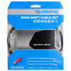 Shimano Dura-Ace Polymer Shift Cable Set Polymer-Coated Deraileur Cable Set Black