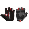 Castelli Circuito Bike Gloves Men's Size Small in Black/Red