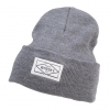 Whisky Diamond Box Beanie Men's in Gray