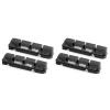 Swiss Stop Flash Pro Brake Pad Inserts Original Black for Aluminum Rims