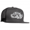Zoic Truck Trucker Hat Men's in Black