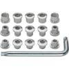 FSA Torx T-30 Alloy Chainring Nut/Bolt Silver, 8mm, Triple, Set/15