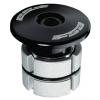 """FSA Compressor Expander Plug and Top Cap Black, 1 1/8"""""""