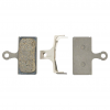 Shimano G02S Resin Disc Brake Pads Resin, Steel Backed, Includes Spring