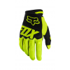 Fox Dirtpaw Youth Race Glove Size Extra Small in Black