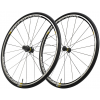 Mavic Ksyrium Wheelset Black, 25mm Ykson Tire