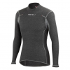 Castelli Flanders Warm LS Men's Size Extra Small in Grey