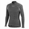 Castelli Flanders 2 W Warm LS Women's Size Extra Small in Gray
