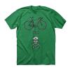 Twin Six Bike or Die Men's Size Small in Kelly