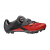 Mavic Crossmax Elite Shoes Men's Size 10 in Black/Fiery Red