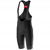 Castelli Tutto Nano Bibshort Men's Size Medium in Black