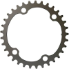 SRAM Force AXS 2X12 107BCD Chainring BLAST BLACK, 33T, 12 SPD, 107BCD, USE WITH 46T
