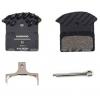 Shimano J03A Resin Disc Brake Pads Resin, Aluminum Backed