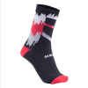 Sugoi RS Crew Socks Men's Size Small in Red/Black