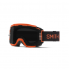 Smith Squad MTB Anti-Fog Goggles Men's in Black/Chromapop Everyday Red Mirror