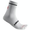 Castelli Entrata 13 Socks Men's Size Small/Medium in White