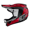 Troy Lee Designs D4 Carbon Helmet Men's Size Extra Small in Mirage Navy/White