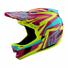 Troy Lee Designs D4 Composite Helmet Men's Size Extra Small in Freedom 2.0 Red/White