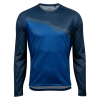 Pearl Izumi Summit Long Sleeve Top Men's Size Small in Navy/Lapis Diverge