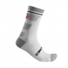 Castelli Trofeo 15 Sock Men's Size Small/Medium in White