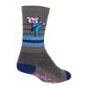 Sock Guy PorkChop Socks Men's Size Small/Medium in Brown/Dark Blue