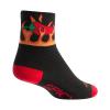 Sock Guy Spicy Socks Men's Size Small/Medium in Black/Red
