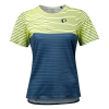 Pearl Izumi Women's Launch Top Size Extra Small in Sunny Lime/Dark Denim Frequency