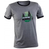 Race Face Simmons Ringer T-Shirt Men's Size XX Large in Heather Green/Black