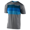 Troy Lee Designs Skyline Air SS Continental Jersey Men's Size Small in Gray/Blue
