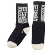 """Surly Block 5"""" Cycling Socks Men's Size Small in Black/Tan"""