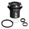 Spank Hex Drive Micro Spline Freehub Body Freehub Body With Spacer Ring & 142/148/157 Adapte