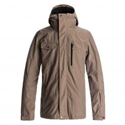 Quiksilver Mission 3 in 1 Mens Shell Snowboard Jacket