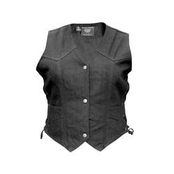 Allstate Leather Inc. Ladie's Denim Vest