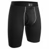 2UNDR Power Shift 2.0 Long Leg Mens Underwear Black