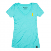 Cotopaxi - Tiny Llama T-shirt - Women's Turquoise XL