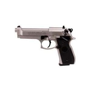 Beretta M92FS Pellet Pistol, Nickel/Black 0.177