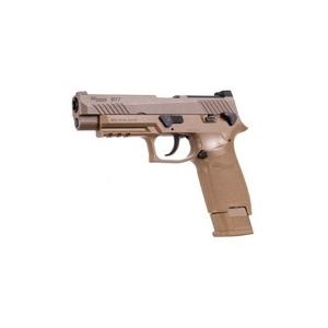 SIG Sauer M17 Pellet Pistol, Coyote Tan 0.177
