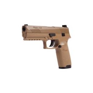 SIG Sauer P320 Pellet Pistol, Coyote Tan 0.177
